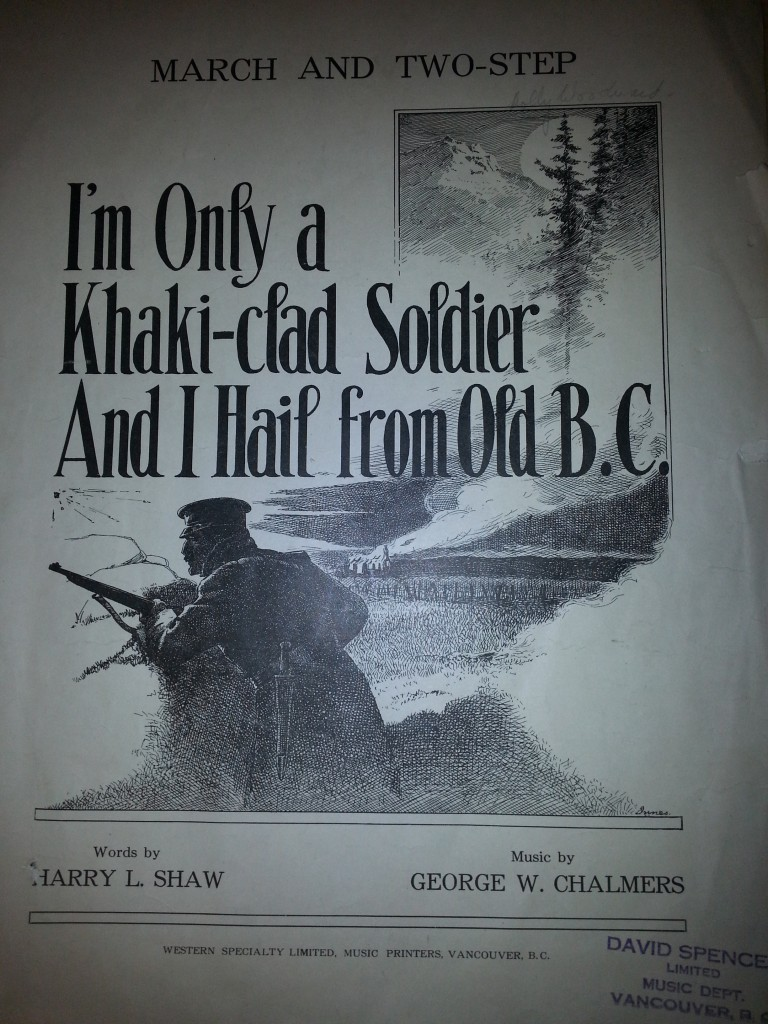 cover of Khaki clad soldier